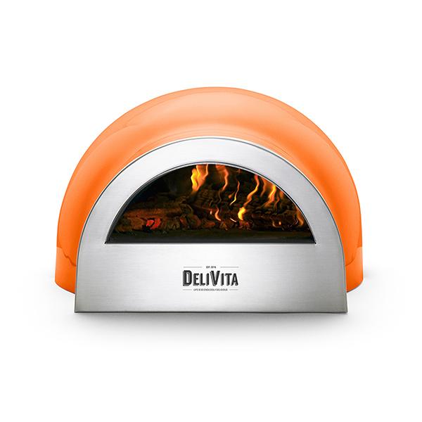 Delivita The Very Orange Pizza Oven